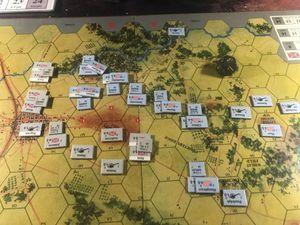 Au prix de pertes importantes le sudistes monte sur les collines mais c'est sans compter sur les troupes nordistes qui arrivent en renfort à la nuit tombée.