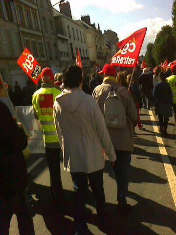 Manifestation pour les retraites