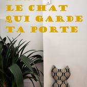 Funky Sunday: Do It Yourself: Le cale-porte chat