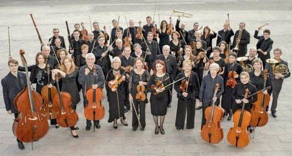 """Concert par l'orchestre symphonique """"COLLEGIUM MUSICUM """" et le """"CHOEUR EUTERPE"""" à Neuf-Brisach"""