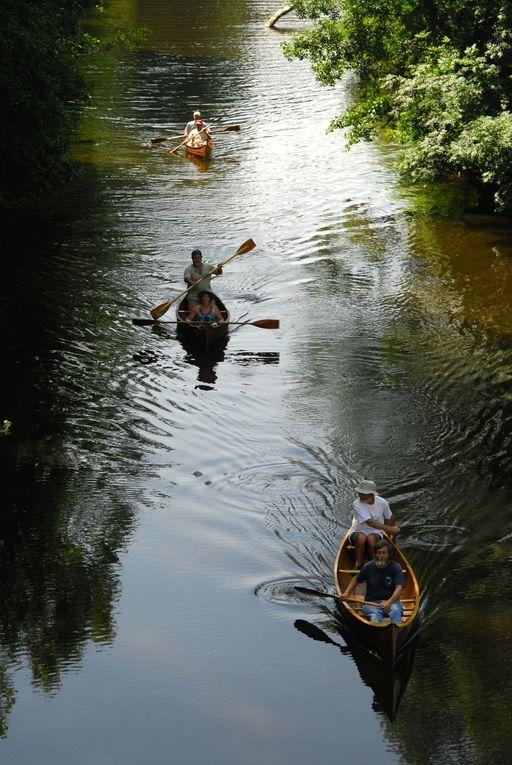 randonnée canoë les 27 et 28 juin 2009