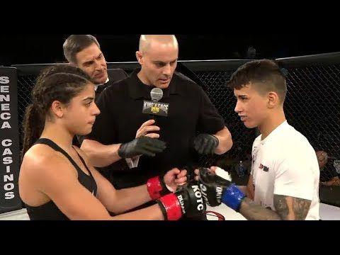 Tia (fille) contre Ariana (fille) - [Combat débutant amateur] - (2018.09.15) - / r / WMMA