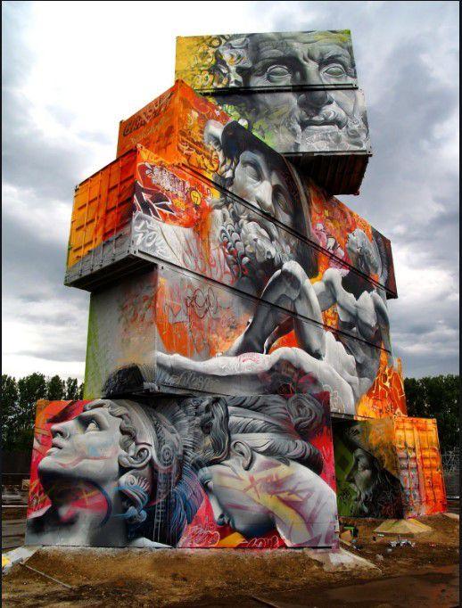 Graffiti de Pichi & Avo