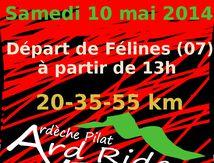 Rando VTT des ArdRiders 10 mai 2014
