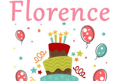 En ce 1er décembre nous souhaitons une bonne fête à Florence