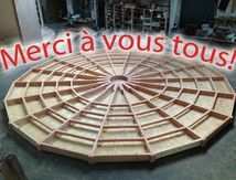 """Yourte """"made in les Vosges"""""""