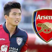 Arsenal and Everton to battle it out for Cagliari's NORTH KOREAN striker Han Kwang-song