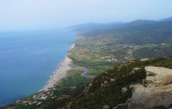 Les plages et les vues sur mer d'Azeffoun
