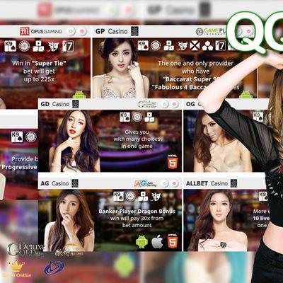 Onlinecasinoqq101 Live Casino Gambling Games