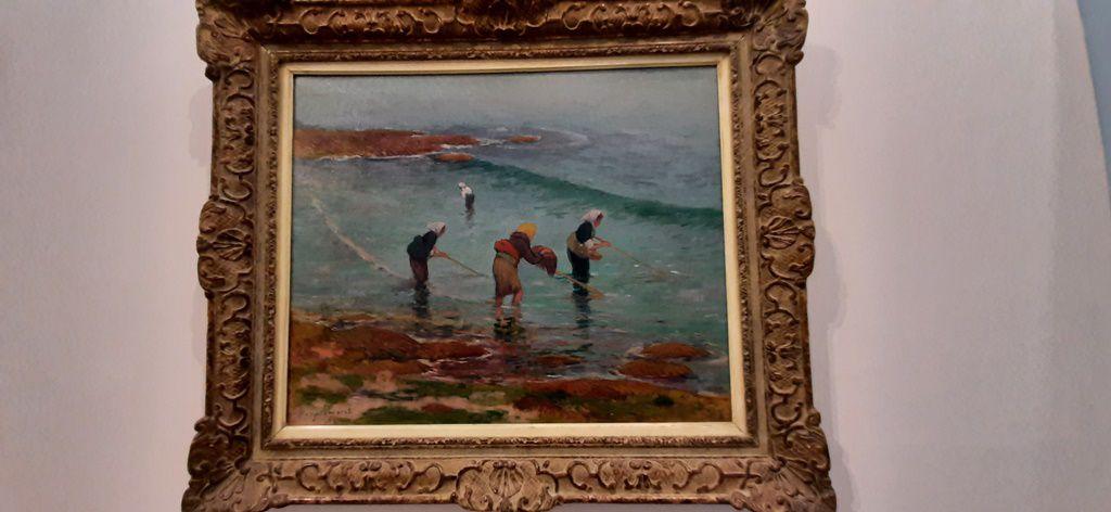 Les pêcheuses - Henry Moret - Collection Jacques Amoudjayan
