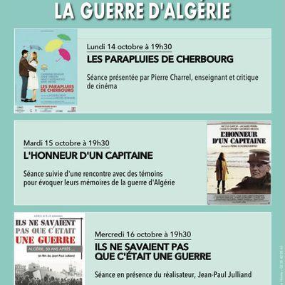Festival : Les mémoires de la guerre d'Algérie (14-17 octobre 2019)
