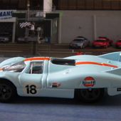 PORSCHE 917 LH LE MANS 1971 PEDRO RODRIGUEZ HOT WHEELS 1/64. - car-collector.net