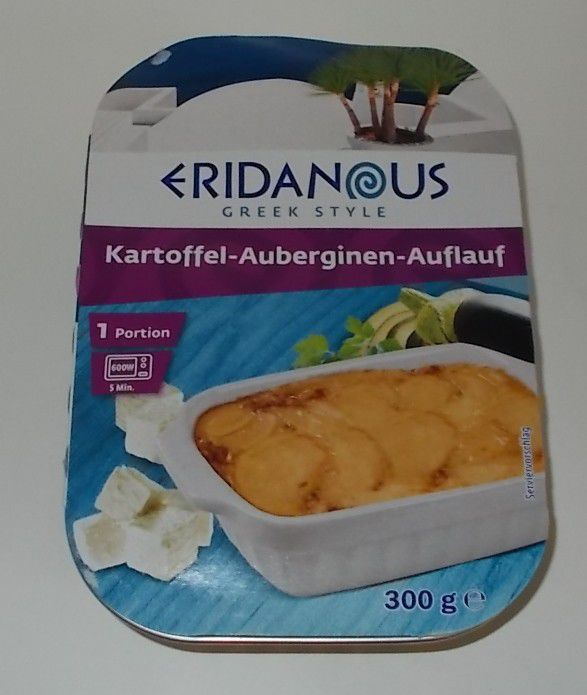 Lidl Eridanous Kartoffel-Auberginen-Auflauf