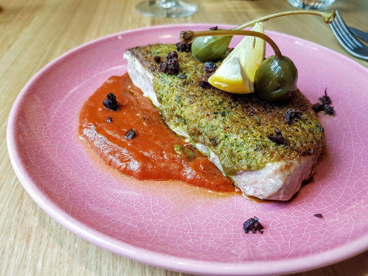 Mi-cuit de thon Rosé restaurant Paris 15