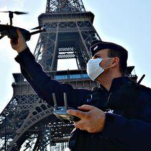 Etat d'urgence sanitaire ou pas, l'utilisation et le stockage des vidéos des drones policiers violent de nombreux articles de la convention européenne de sauvegarde des droits de l'homme, le conseil d'État interdit la surveillance policière par drone!