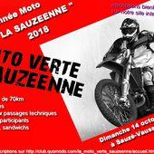 """Randonnée Moto """"La sauzéenne 2018"""" - RANDONNEE ENDURO DU SUD OUEST"""