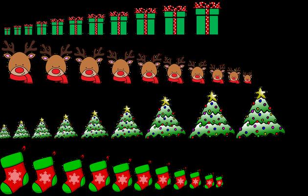 Noël : Ordre de grandeur