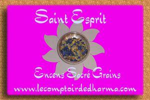 Saint Esprit Encens Sacré grains