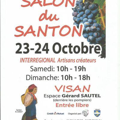 Les salons santonniers de Visan et Cabannes les 23 et 24 octobre 2021
