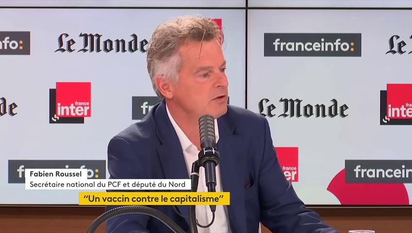 Fabien Roussel sur France Inter dimanche dernier