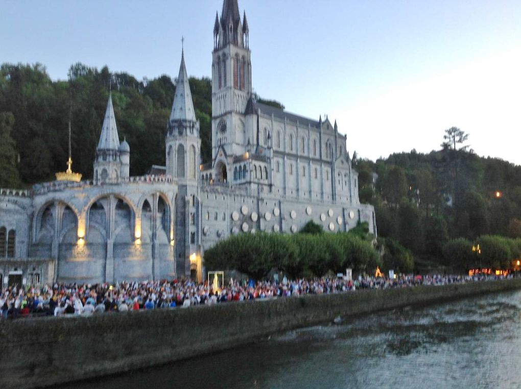 Album - 2014-08-Pèlerinage-Lourdes