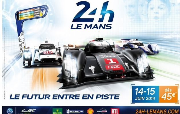RTL en direct des 24 Heures du Mans ce weekend (14/15 juin 2014)