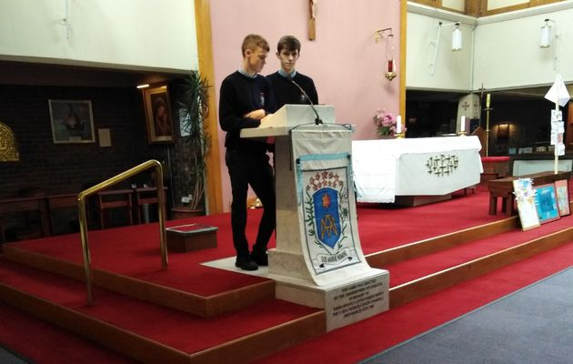 Chanel College : Welcome Mass /.../ Messe d'accueil