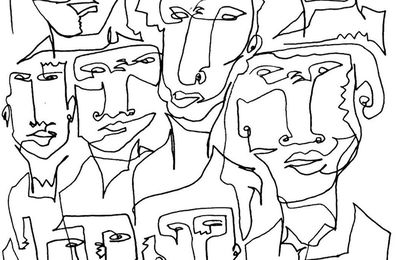 THE CONTINUOUS LINE : TAKE A LOOK AT ZAID ZAWAIDAH ARTWORK
