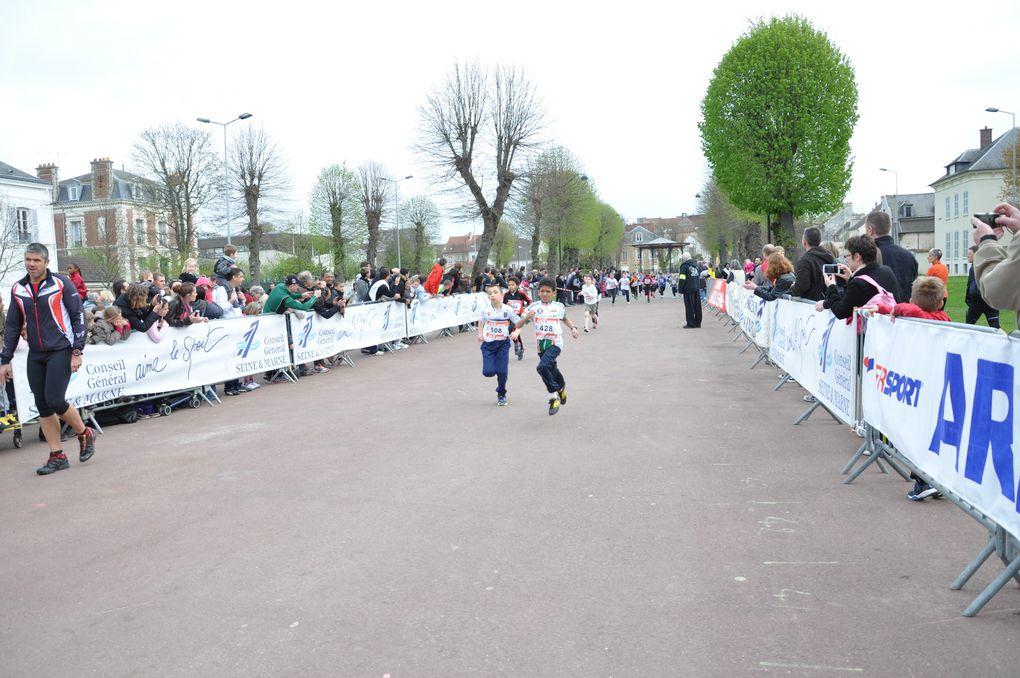Les Meulieres en photo- course des enfants-
