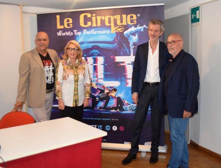 Ariston Roof Sanremo: OBBLIGO  DI GREEN PASS : LE CIRQUE WORLD'S TOP PERFORMERS RIDUCE LE DATE DEL TOUR 'LA BELLE VIE'