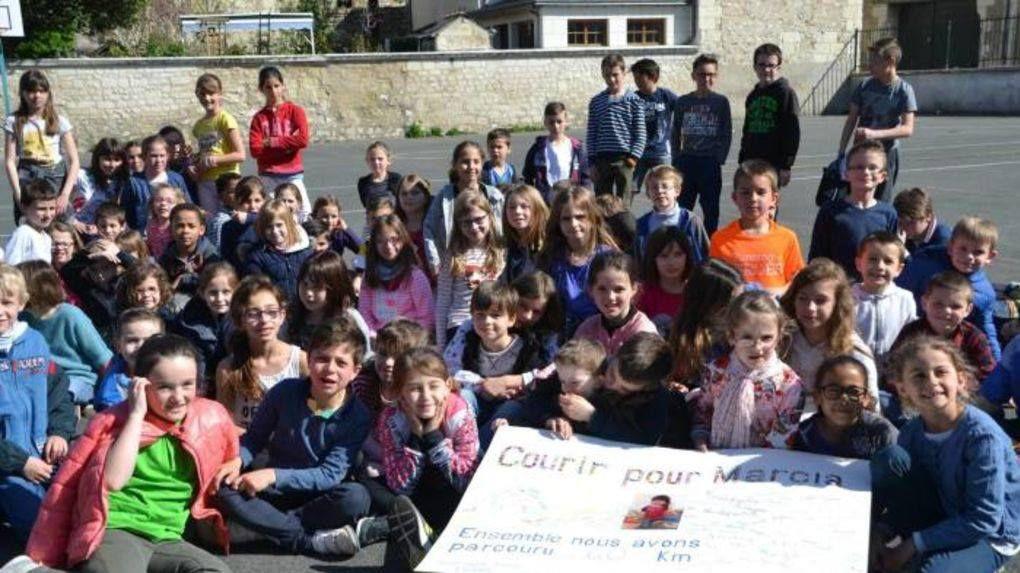 L'école Saint Joseph se mobilise pour Marcia