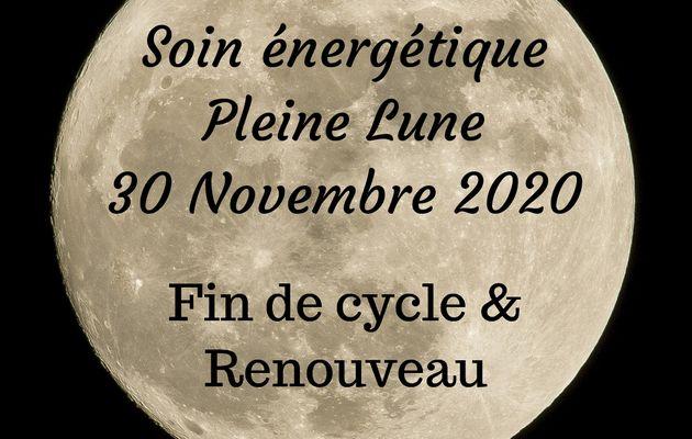 Soin collectif Pleine lune 30 novembre 2020
