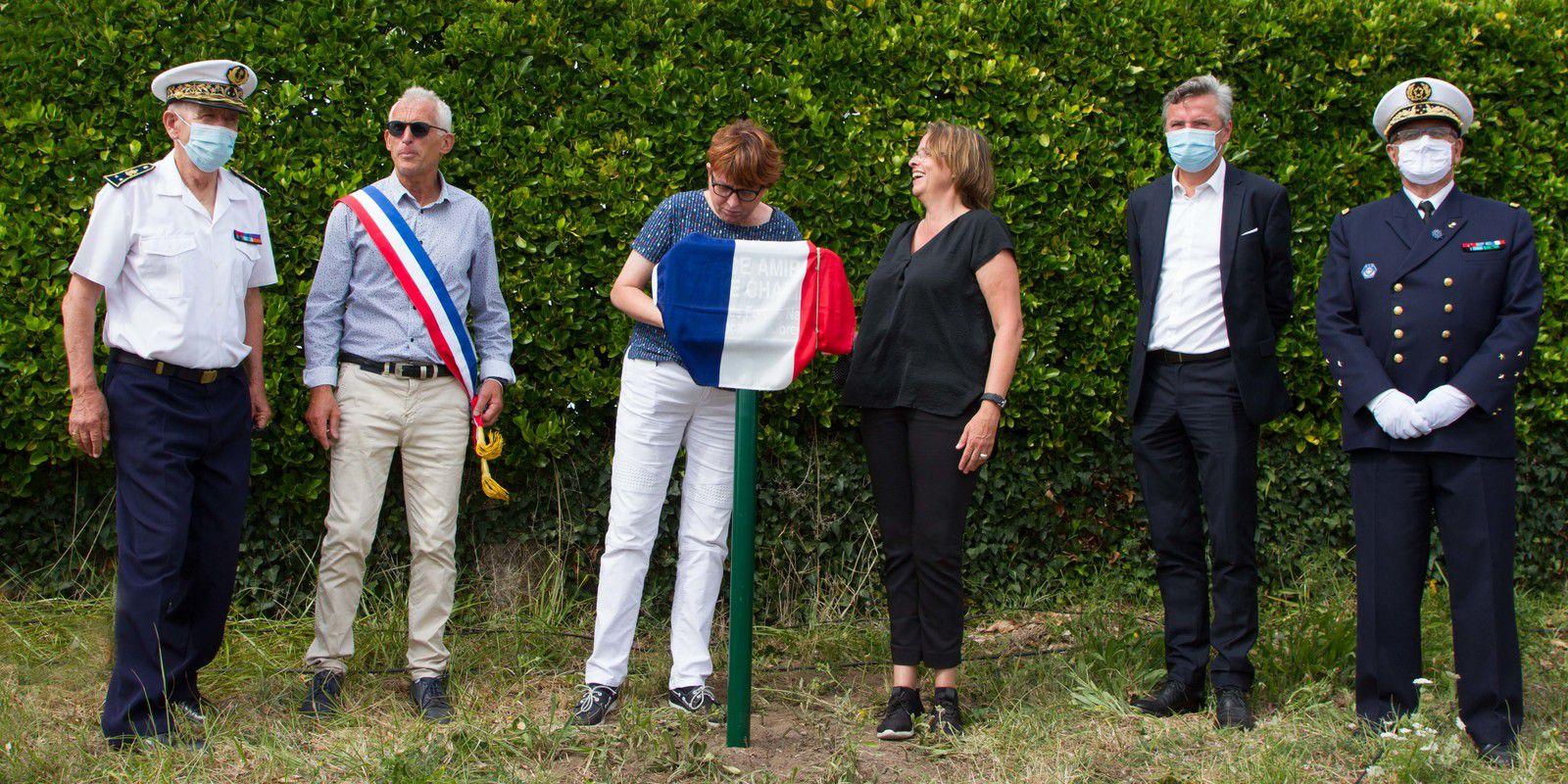 """ÉMILE CHALINE - MEMBRE D'HONNEUR DE L'ASSOCIATION """"AUX MARINS"""""""