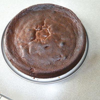 fondant choco marron
