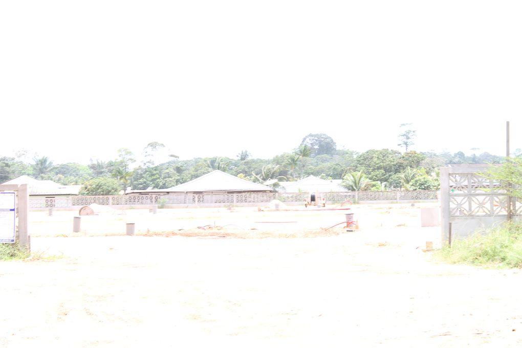 Opération de terrassement de la ZAC Copaya, et de construction de la voie de liaison de Copaya