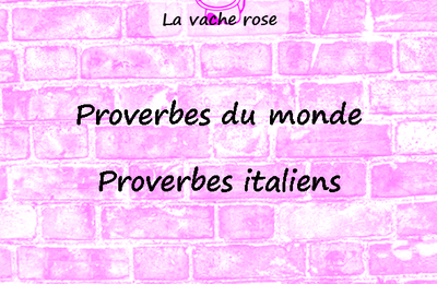 Proverbes italiens