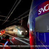 TGV Nantes-Paris : comment 750 passagers sont restés coincés 16 heures - Le journal de 20h | TF1