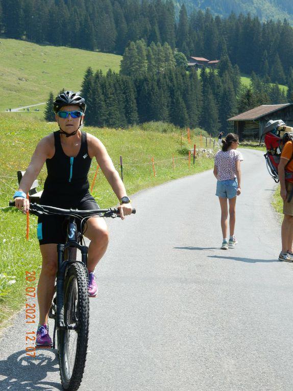 Anfahrt zur Berggaststätte Alp Garfiun