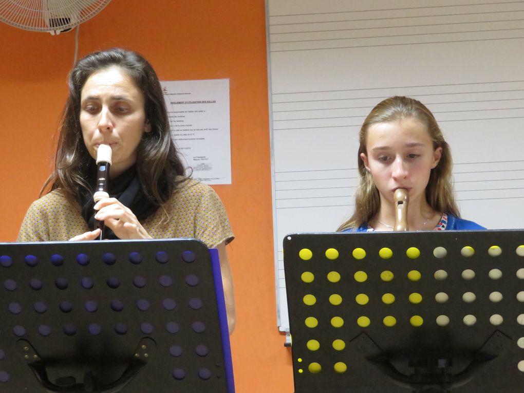 Audition de flûte à bec 24 juin