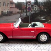 MERCEDES 280 SL CABRIOLET 1968 NEW RAY 1/43 - car-collector