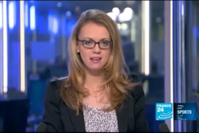 2012 01 06 @22H00 - REBECCA BOWRING, FRANCE 24, LIVE FROM PARIS