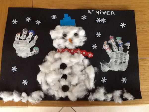 Projet collectif hivers❄️⛄️