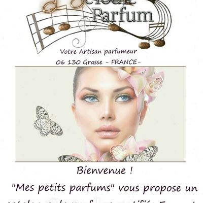"Catalogue ""mes petits parfums"""