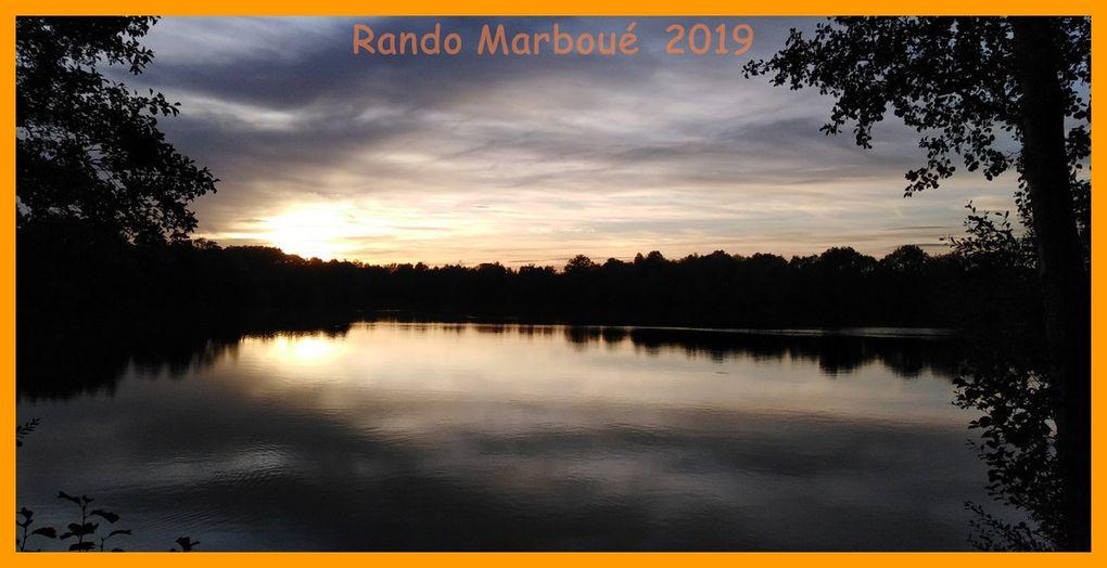 Randonnée semi nocturne à Marboué.  2019