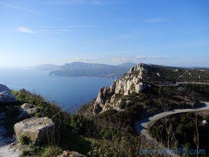 Route des crêtes, La Ciotat-Cassis (Voyage en camping-car)