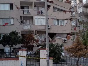 Région d'Izmir en Turquie - Dégâts consécutifs au séisme du 30.10.2020 - photos EMSC - un clic pour agrandir