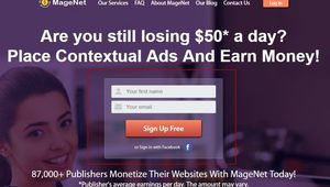 87,000+ Publishers Monetize Their Websites With MageNet Today!
