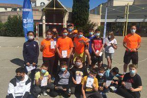 Formation prévention routière à Vélo avec l'Association sportive et section sportive badminton
