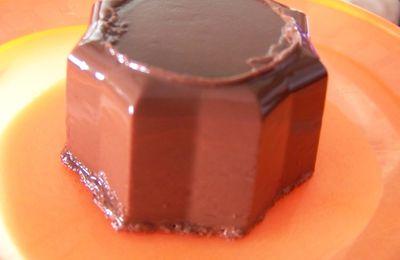 flan chocolat facon mamie nova