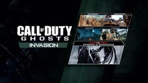 #COD GHOSTS INVASION SUR PS3/PS4